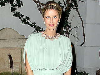 Nicky Hilton Rothschild Shows Off Baby Bump During Spring-Themed Night Out