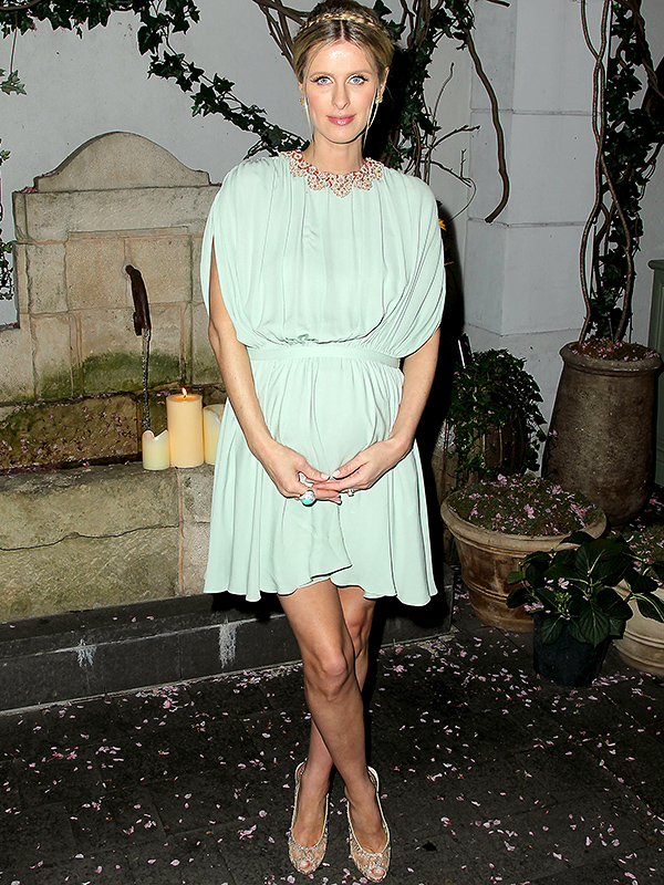 Nicky Hilton Rothschild pregnant Mother's Day premiere