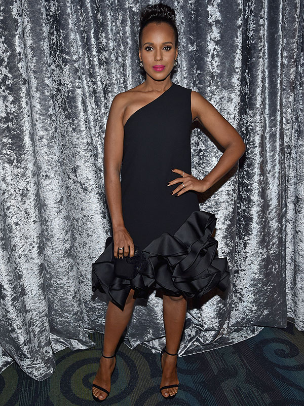 Kerry Washington WHCD pregnant expecting second child