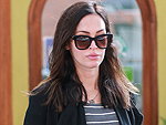 Pregnant Megan Fox Shows Off Baby Bump While Out for Lunch with Brian Austin Green