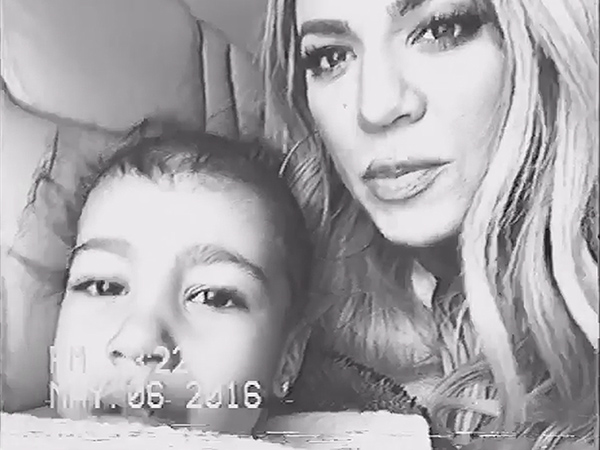 Khloe Kardashian North West