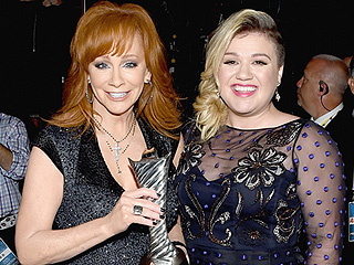 Reba McEntire on Kelly Clarkson's Newborn Son Remy: 'We're Buddies Already'