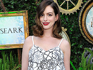 Anne Hathaway Glows in First Red Carpet Appearance Since Giving Birth to Son