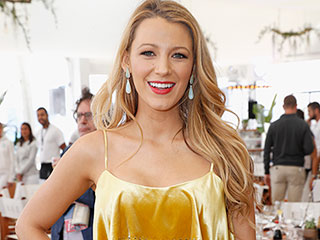 The (Pregnant!) Lady In Gold: Blake Lively Continues Her Bump-Baring Week at Cannes
