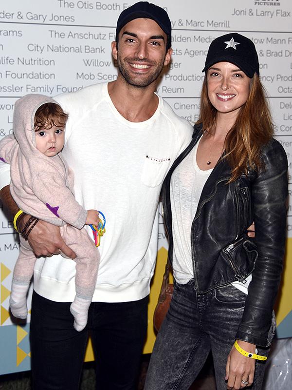 Justin Baldoni with Maiya Grace Baldoni