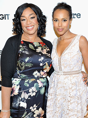 Kerry Washington pregnant Shonda Rhimes