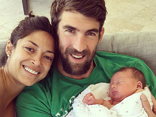 Michael Phelps Welcomes Son Boomer Robert: 'Best Feeling I Have Ever Felt in My Life'