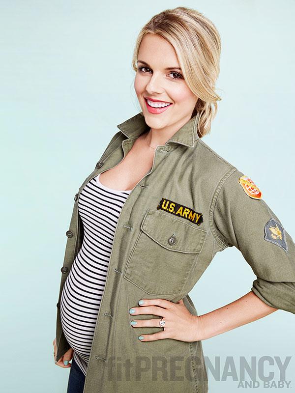Catherine Giudici Ali Fedotowsky pregnant Fit Pregnancy