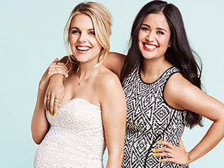 Ali Fedotowsky and Catherine Giudici Lowe Compete for Title of 'Cutest Pregnant Person Ever'