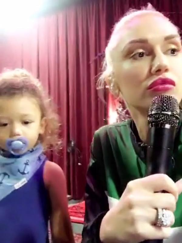 Gwen Stefani Apollo Musical Talent