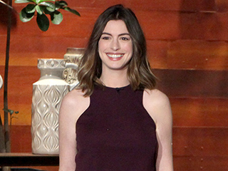 Anne Hathaway Jokes Her Post-Baby Body Didn't Quite Get the Reaction She Was Hoping for at the Gym