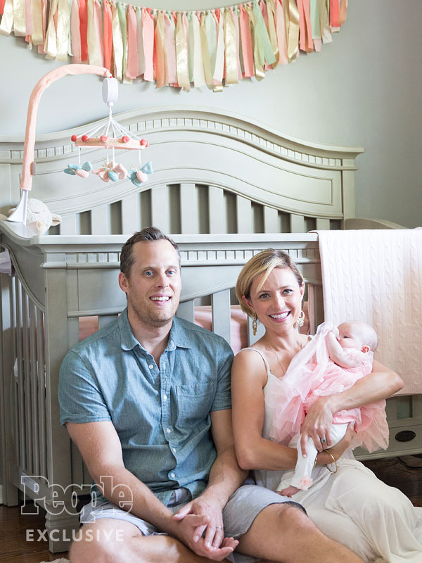 Christine Lakin daughter nursery