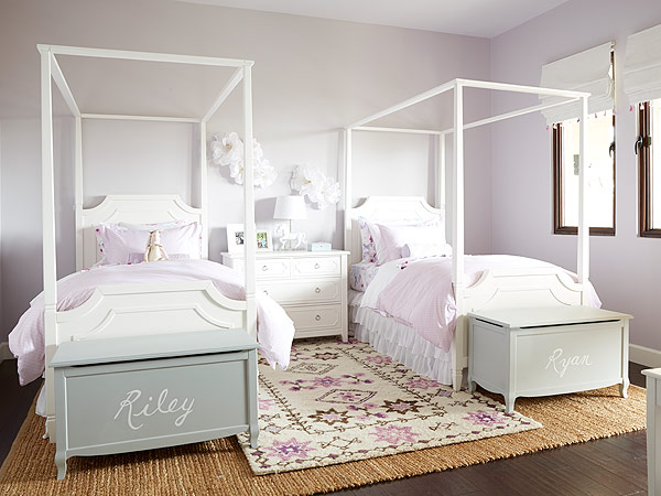 Steph Curry daughters' bedroom