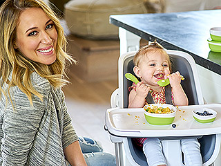 Haylie Duff Dishes on Her Latest and Greatest Baby Find: A Cool New Highchair