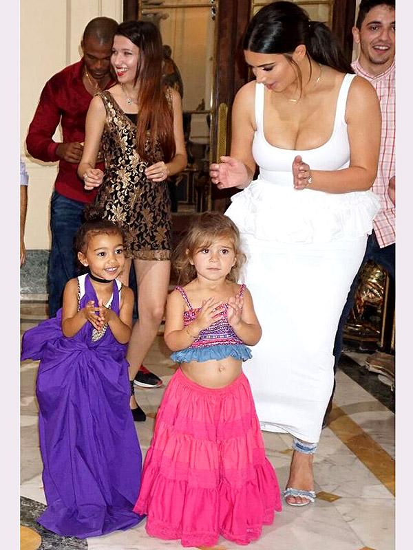 Kardashians Salsa Dancing