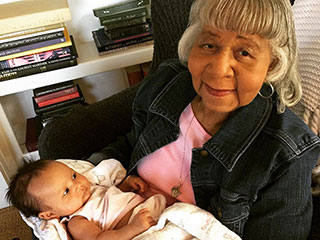 John Legend Introduces Baby Luna to His Grandmother in a Sweet Instagram Photo