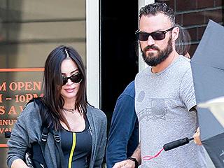 Pregnant Megan Fox and Brian Austin Green Grab a Post-Birthday Lunch In L.A.