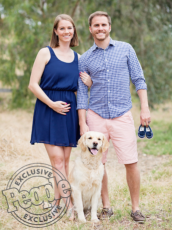 Michael Stagliano wife Emily pregnant son