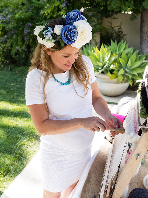 Erika Christensen baby shower