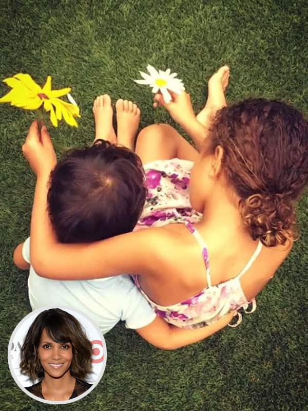Halle Berry Kids Instagram
