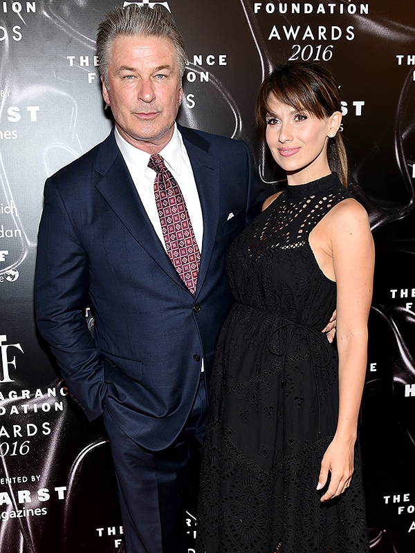Alec and Hilaria Baldwin 2016 Fragrance Foundation Awards