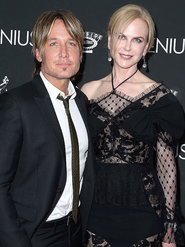 Nicole Kidman And Keith Urban On Daughters Movie Premiere
