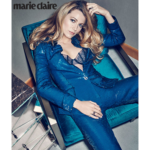 Blake Lively Marie Claire July 2016 1