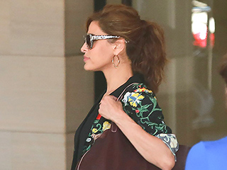Eva Mendes Steps Out in First Appearance After Giving Birth to Her Second Child