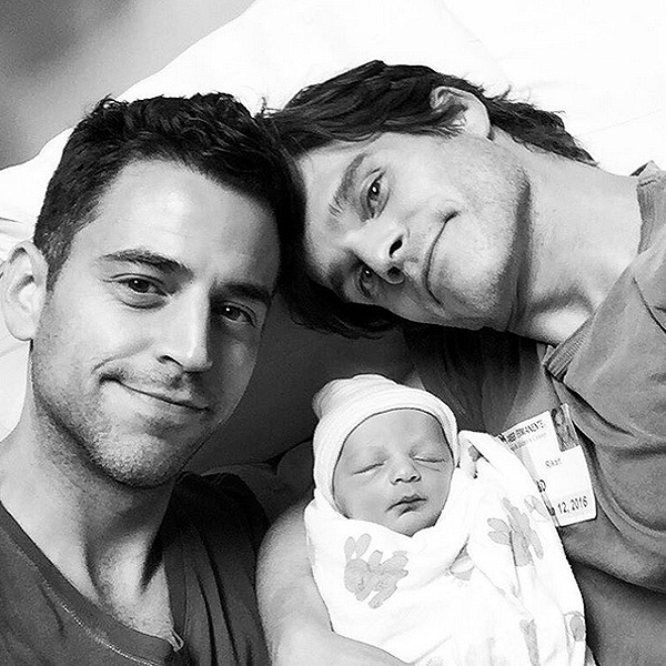 Greg Rikaart Welcomes First Child