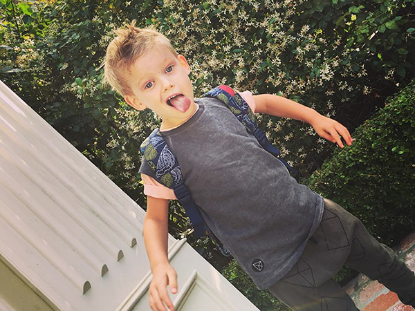 Hilary Duff's Son Luca Sings Ghostbusters Theme