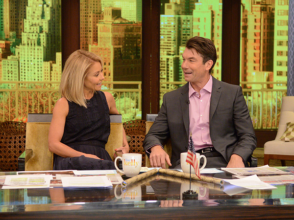 Jerry O'Connell Daughters Kelly Ripa