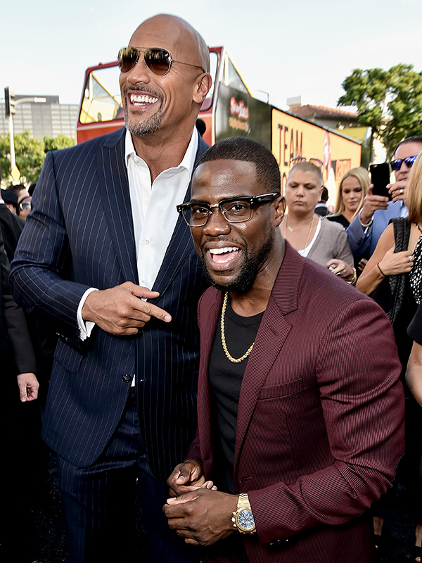 Kevin Hart Dwayne Johnson
