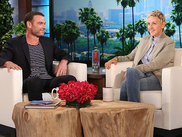 Liev Schreiber Ellen Show