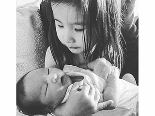 Sweet #sibLINGS! Lisa Ling Shares Adorable Photo of Daughters Jett and Ray