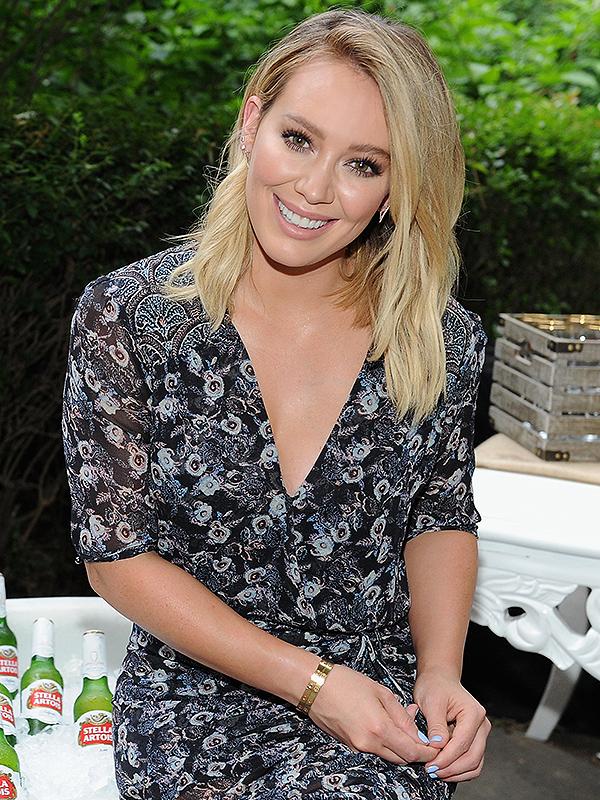 Hilary Duff Stella Artois