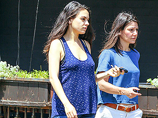 Bump It Up! Mila Kunis Keeps it Casual as She Debuts Baby Belly in Los Angeles
