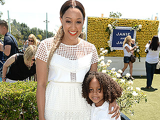 Tia Mowry-Hardrict Says the Key to Parenting Son Cree Is to 'Get on His Level' with Communication