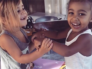 North West and Penelope Disick Show Off Their Secret Language in Adorable Video