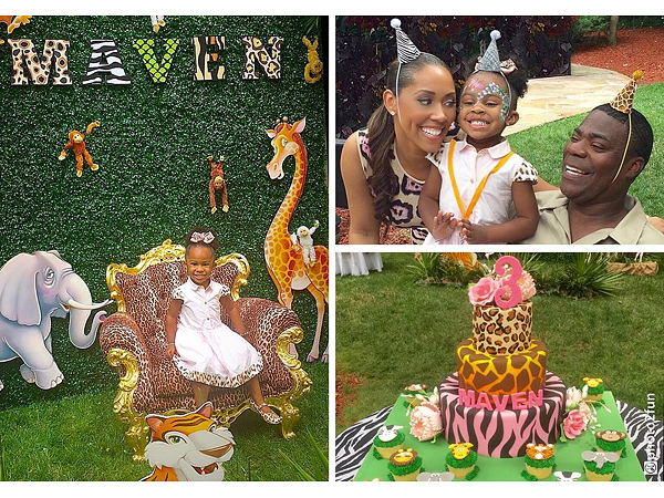 Tracy Morgan's Daughter Turns 3