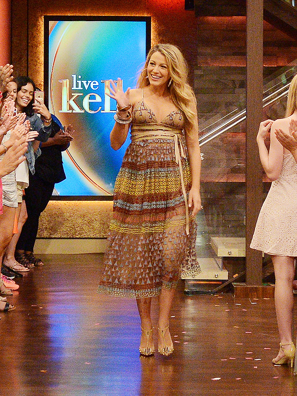 Blake Lively Kelly Ripa July 12