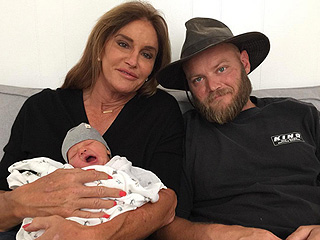 'The First Jenner Boy!' Caitlyn Jenner Cuddles Her Newborn Grandson Bodhi: 'The Name Moves On'