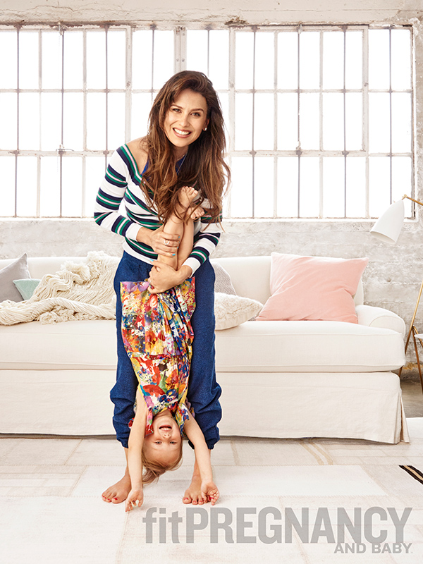 Hilaria Baldwin Fit Pregnancy and Baby Main