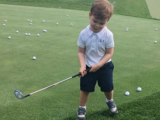 'Tee Time': Watch Ivanka Trump's Son Joseph Play Golf Like a Pro (Check Out His Swing!)