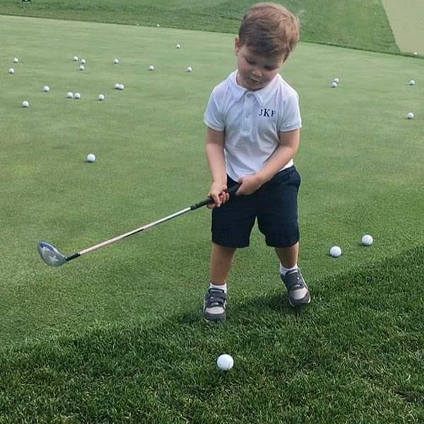 Ivanka Trump Shares Video of Son Joseph Playing Golf ...