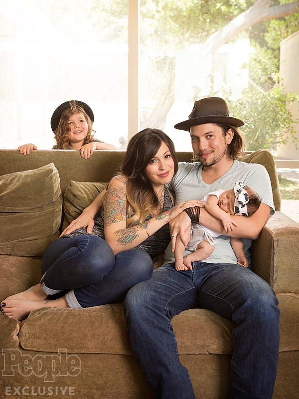 Jackson Rathbone Introduces Presley Bowie