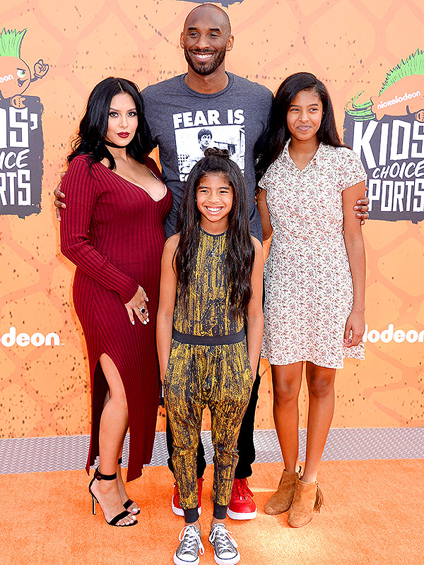 Kobe Bryant Kids Choice Sports Red Carpet