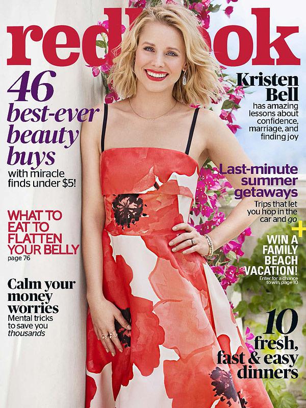 Kristen Bell Redbook