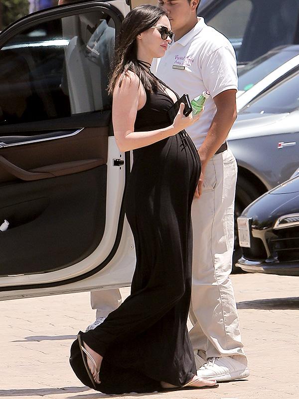 Pregnant Megan Fox Brian Austin Green