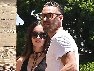 Pregnant Megan Fox and Brian Austin Green Step Out for Lunch After Source Reveals They're Back Together