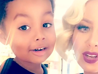 Amber Rose's Son Sebastian Gives His (Honest!) Opinion on Her New Hair: 'You Look Like a Monster'